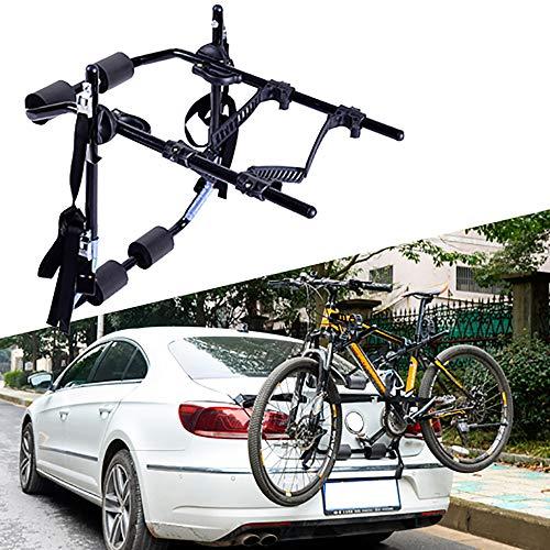 Portabicicletas para coche para transportar2bicicletas, portabicicletas para bicicletas montado en la parte...
