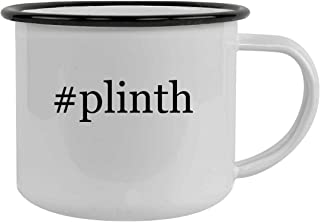 #plinth - 12oz Hashtag Stainless Steel Camping Mug, Black