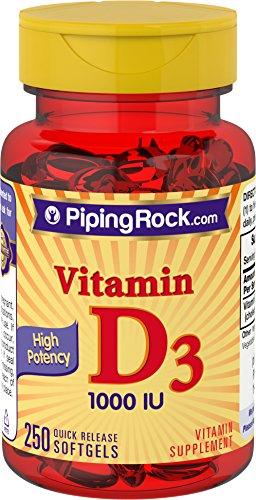 250 x Vitamin D, D3, HIGH Strength & Potency, 1000iu, 250 Softgel Capsules, Supplement, Fast Free P&P