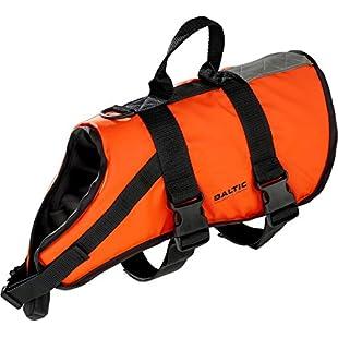Baltic Standard Fastening Pet Buoyancy Aid with Strap - Orange, Medium 8-15 Kg:Comoparardefumar