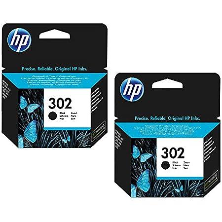 HP 302 Standard Capacity Black 2-pack Original Ink Cartridge