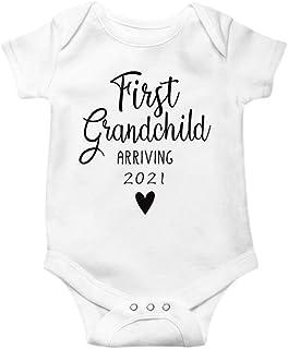 rrhss اعلامیه بارداری خنده دار کودک تازه متولد شده اولین لباس نوه که در سال 2021 به دنیا می آید