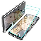 Teayoha Clear Case for Huawei P Smart 2021,with Tempered