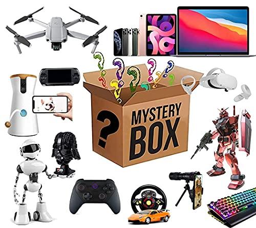 Caja misteriosa Caja de misterio electrónico, cajas de suerte Mystery Click Box, súper costefectiva, estilo aleatorio, latidos del corazón, excelente relación calidad-precio, por primera vez, se sirve