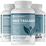 Male Libido Plus- Natural Testosterone Booster for Men That Supports Energy, Desire, Performance & Stamina. Maca, Ginseng, Horny Goat Weed, Muira Puama & Tribulus - Pure Micronutrients