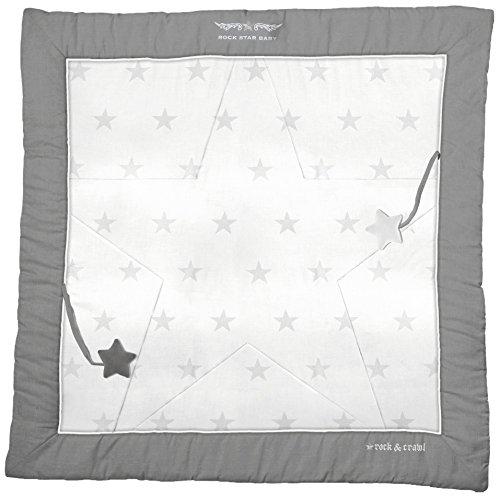 roba Tapis éveil 'Rock Star Baby 2', 100% coton, avec broderie, avec éléments de jeu.