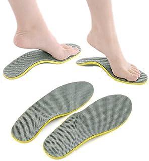 Cojín eDealMax par Unisex Ortesis de Pie Zapatos plantillas de inserción alta ayuda de arco del