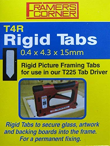 Charnwood T4R Rigid Tab, Pack of 2500 For use With T225 Tab Driver