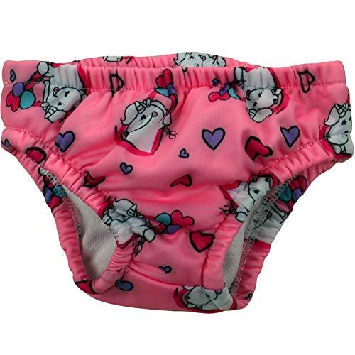 Pummel & Friends - Pañal de natación para niña, diseño de unicornio Talla:62/68