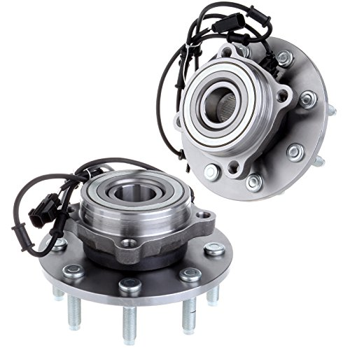 ECCPP Replacement for 2 NEW 515061 Front Wheel Hub Bearing Assembly Fit For 2003 2004 2005 Dodge Ram 2500 3500 8 Lug W/ABS 4x4 4WD