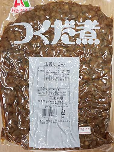 つくだに 生姜 しじみ 1kg×18P 業務用 常温 佃煮