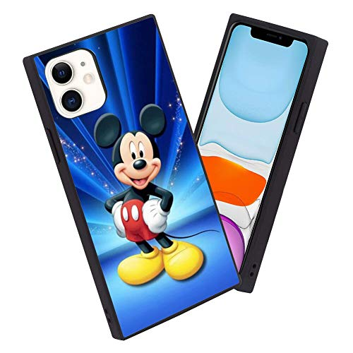 Disney Collectiondisney Collection Iphone 11 6 1 Inch Case Square Cover Mickey Mouse Wallpaper Hd Design Flexible Soft Tpu Reinforced Slim Shockproof Case Dailymail