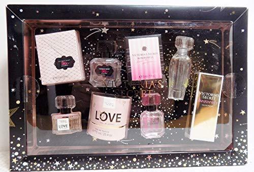 Victoria's Secret Eau De Parfum Gift Set - .25 oz in Love, Tease, Bombshell, and Heavenly