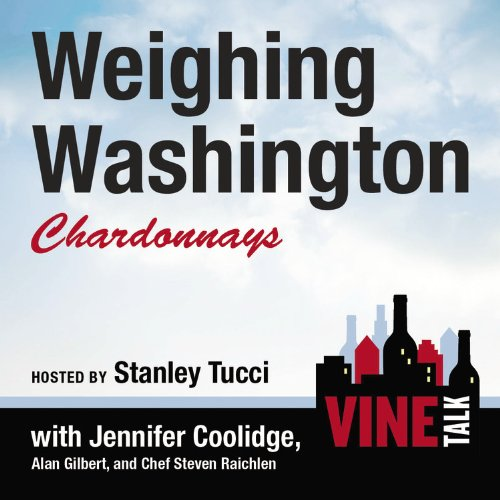 『Weighing Washington Chardonnays』のカバーアート