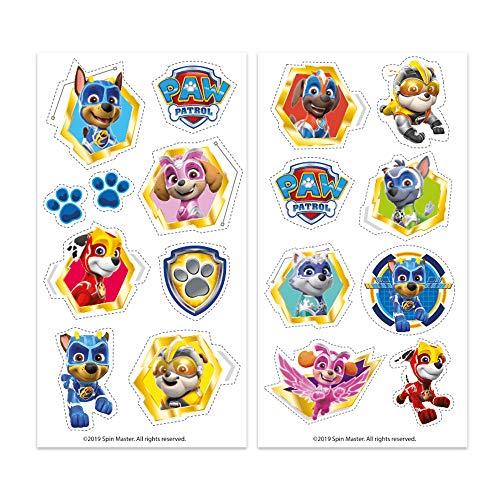 346226 Marshall Vela de Cumplea/ños en 2D de La Patrulla Canina Dekora-346226 Chase Skye Color azul