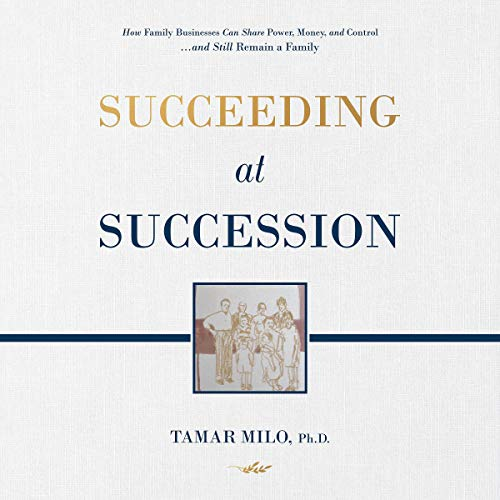 Succeeding at Succession audiobook cover art