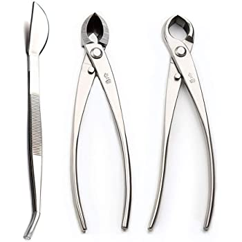 Amazon Com Master S Bonsai Tool Kit 3 Pcs Per Set Jttk 06 Including Knob Cutter 8 Branch Cutter 8 Garden Outdoor
