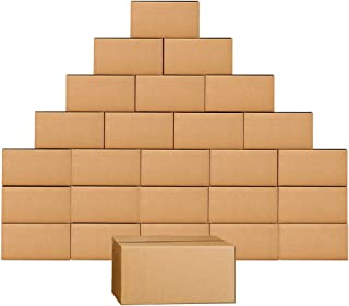 Shipping Boxes 11 x 6 x 6 Inches Corrugated Cardboard Box, 25 Pack