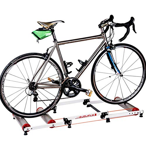 LKAIBIN Bicicleta de campo de cross Deportes al aire libre Entrenador de Bicicletas, Plegable Rueda de Bicicleta de Montaña Bicicleta de Carretera Estación de Deportes de Resistencia Deportes