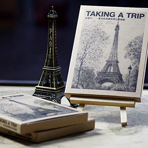 Yoin 28sheets/LOT Maak een reis naar Europa ansichtkaart/wenskaart/wenskaart/Fashion Gift