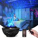 Star Projector, YISUN Night Light Projector Galaxy Projector Ocean Wave Projector with Music Speaker Star Light Projector for Bedroom Party Birthday Wedding Baby Kids Gift Decor