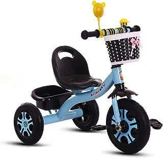 Triciclo Bebe Evolutivo Plegable Niño Bebé con Mango Trike Smart Bici para Niños,Neumáticos para Coches y Conducción Silenciosa,18 Meses - 5 Años,hasta 30kg(Azul)
