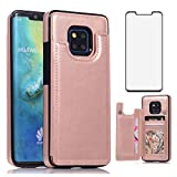 Asuwish Compatible with Huawei Mate 20 Pro Wallet Case