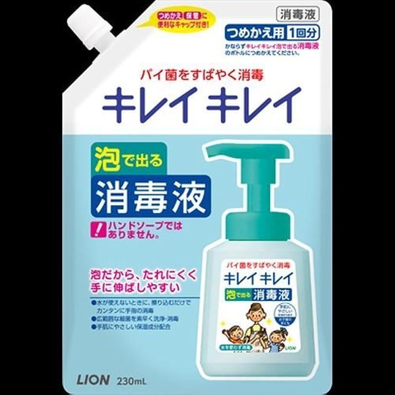 メニュー悪意のある泣くキレイキレイ 薬用泡ででる消毒液 つめかえ用 230mL ×2セット