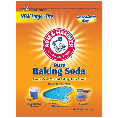 Arm & Hammer Pure Baking Soda, 432 Ounce (Pack of 2)
