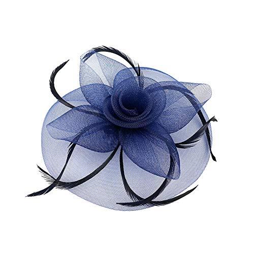 Bodhi200 0 tocados de mujer con flores y plumas, para bodas, cócteles,...