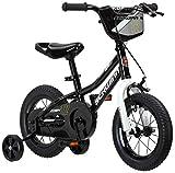 Schwinn Koen Boys Bike for Toddlers and Kids, 12-Inch Wheels, Black