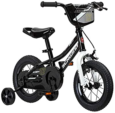 Schwinn Koen Boys Bike for Toddlers and Kids, 12, 14, 16, 18, 20 inch Wheels for Ages 2 Years and Up, Red, Blue or Black, Balance or Training Wheels, Adjustable Seat from Schwinn