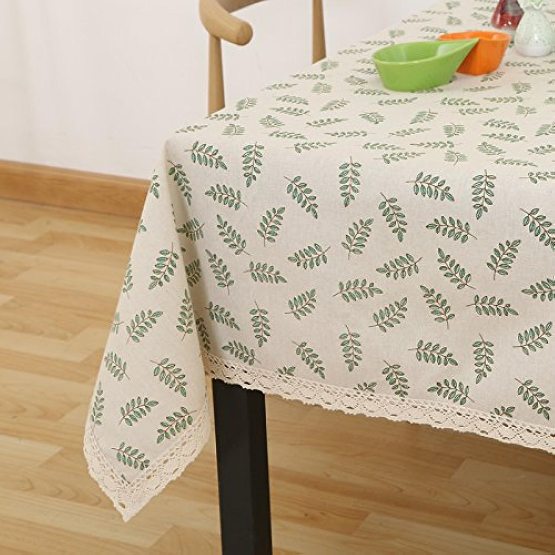 conveniente WFLJL mantel Decoración de Estilo Simple Tela de algodón algodón algodón Cubierta rectángulo Café 90  140cm.  con 60% de descuento