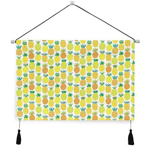 HATESAH Suspensión de Pared para Lienzo Poster Home Decor Wall Art,Frutas Hawaianas Frescas y Dulces en Formas ingeniosas Jardín orgánico Temporada de Verano,Arte de Decoraciones para