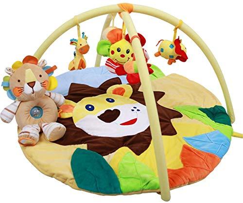 SCLL Arc de Jeu pour bébé Tapis de Jeu Jouet Suspendu avec de la Musique Tissu très Doux Facile à Ranger pour Les garçons et Les Filles Nouveau-nés, 0-12 Mois, Stable