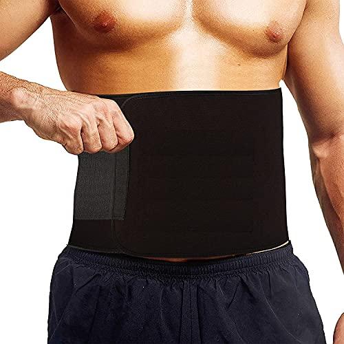Cuerpo que adelgaza la cintura/la cintura Trimmer Quemador de grasa/vientre vientre Yoga Wrap Negro/Ejercicio Cuerpo adelgazar Cinturón