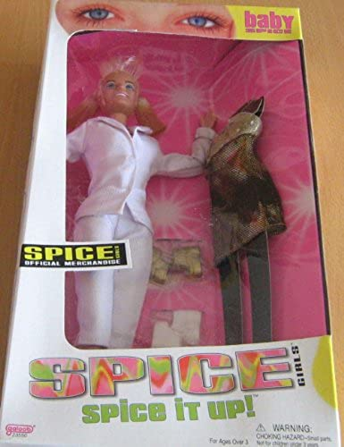 1998 SPICE GIRLS Spice it up  BABY SPICE (Emma Lee Bunton) DOLL by Galoob