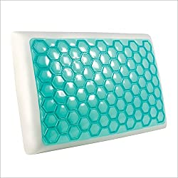 Lux Living Cooling Gel Memory Foam Pillow Review