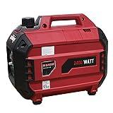 Goplus 2400 Watt Gasoline Portable Generator Inverter Generator Gas Powered 4 Stroke 113cc Single Cylinder W/Air Cooling System EPA Approved