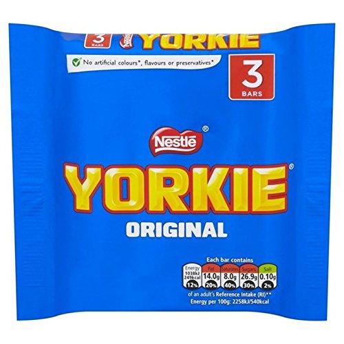 Yorkshire Multipack 3 X 46G - Paquet de 6