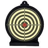 ACEXIER Objetivo de Entrenamiento Airsoft Shooting BB Paintball Buffer Sticky Target Paper 6/12 Pulgadas para Accesorios tácticos de trazador de Bolas de Gel