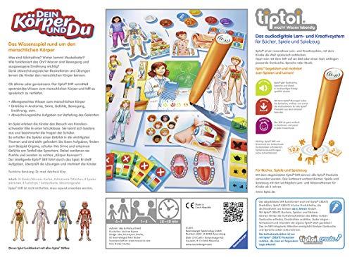 tiptoi® Dein Körper und du: Das Wissensspiel rund um den menschlichen Körper
