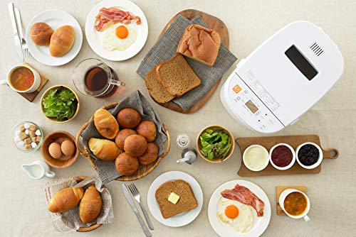 ツインバードホームベーカリーブランパンメーカー低糖質ブランパン餅つき機能BM-EF36W
