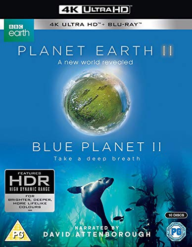 Planet Earth II & Blue Planet II [4k UHD Blu-ray + Blu-ray]