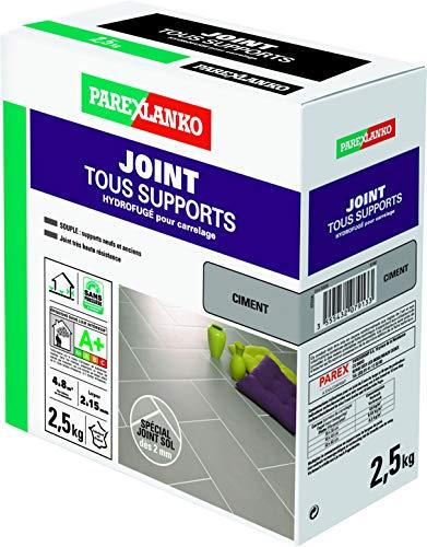 Parexlanko, Joint Tous Supports, Joint carrelage soumis à de fortes sollicitations, Ciment, 2,5kg