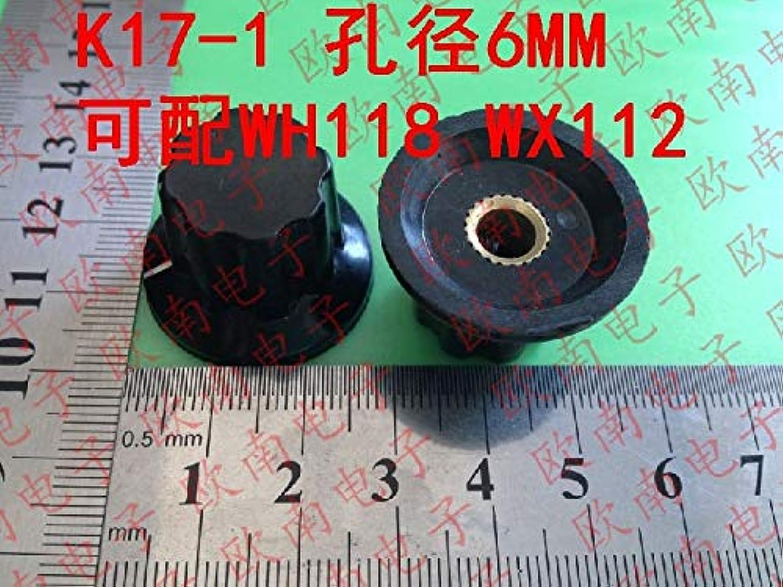 VK] Potentiometer hat Aperture 6MM bakelite knob Handle can