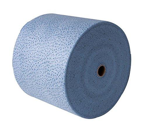 Reinigungstuch blau I Papiertuchrolle Multi I 1 Rolle 500 Abrisse I 32 x 38 cm I Reinigungstuch I Vliesstoff zur Aufnahme von Lösemitteln