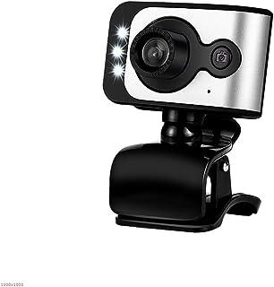 YIJ-YIJ Webcam with Microphone, USB External HD Webcam, Desktop Notebook All-in-one High-Definition Beauty HD Webcam, Dedi...