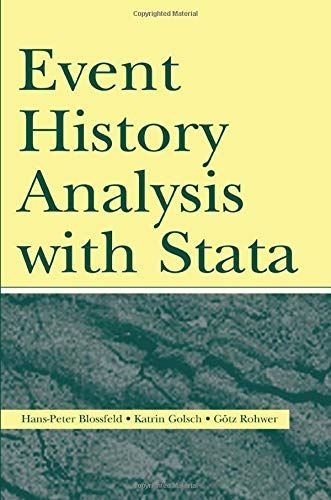 Event History Analysis With Stata