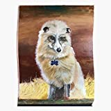 Rescue Traditional Animals Paints Foxes Critters Art Oil